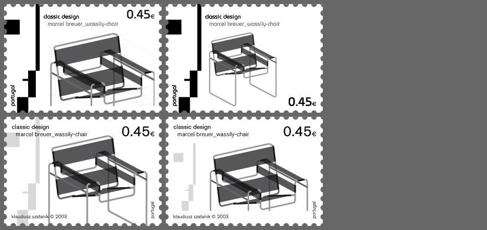 stamp bauhaus variations