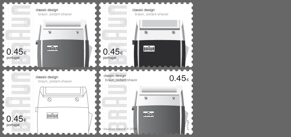 stamp braun variations 1