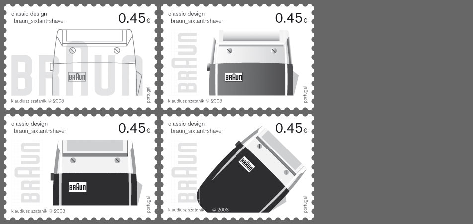 stamp braun variations 2