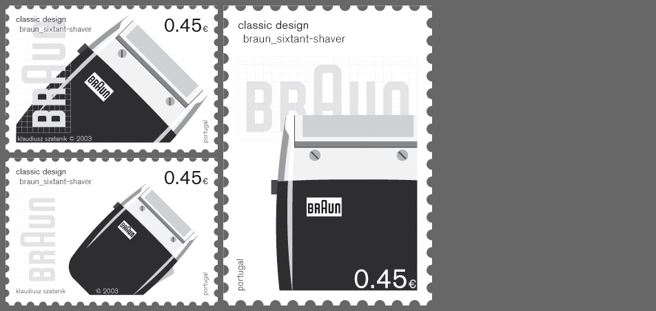 stamp braun variations 3