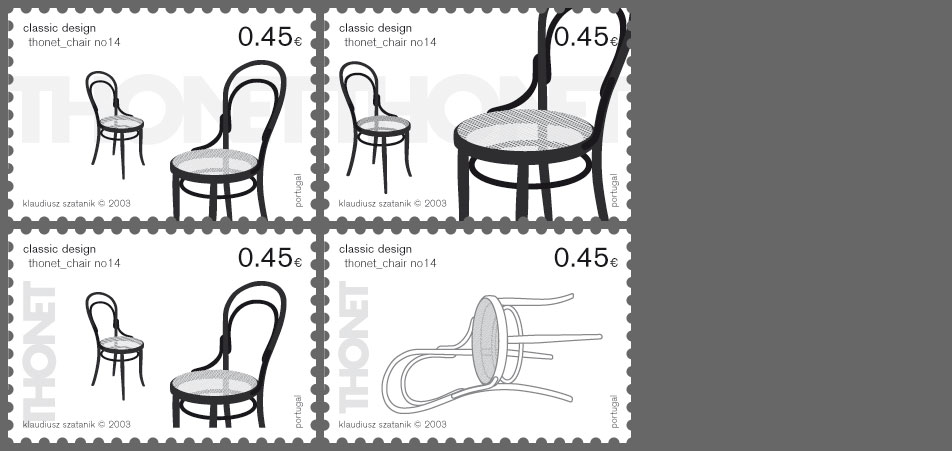stamp thonet variations 1