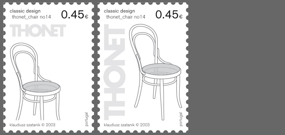 stamp thonet variations 2