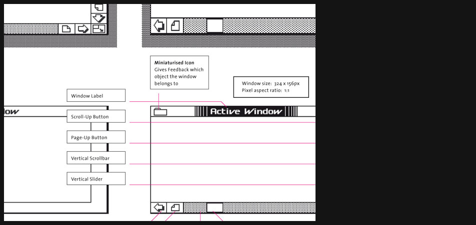 Apple Lisa windows