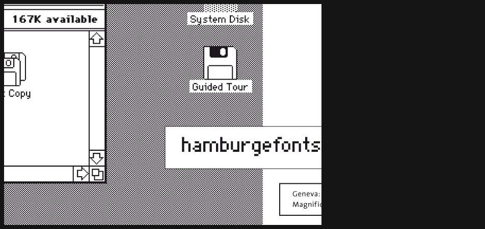 Macintosh typography