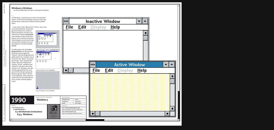 Windows 3 windows