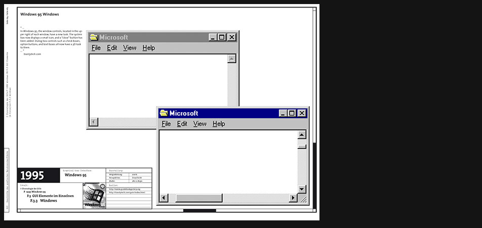 Windows 95 windows